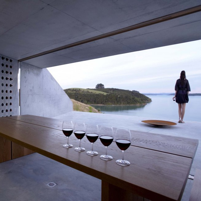 architizer:  Wine Station Wine Cellar by MAP Architects