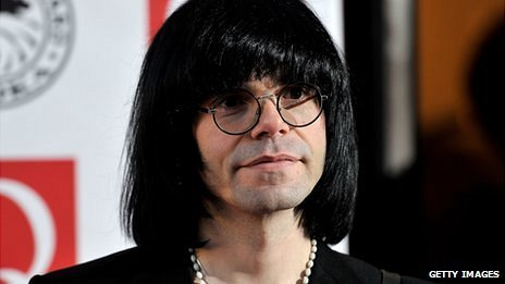 Hey! When did Tim Burgess turn into Mrs Muggles, my old neighbour from No 52?