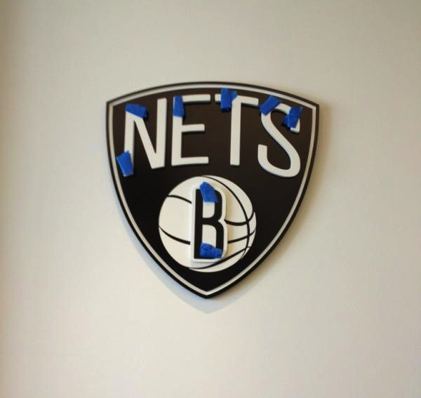 thescore:  The new Brooklyn Nets logo?  What do you guys think?