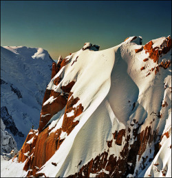 travelingcolors:  Aiguille du Midi, French Alps | France (by Katarina 2353)