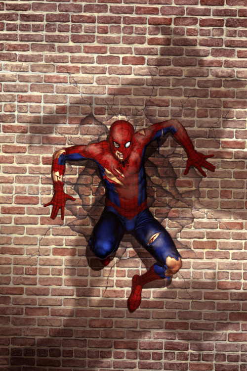 bloodhaven:  Spider-Man vs. Green Goblin by No-Sign-of-Sanity