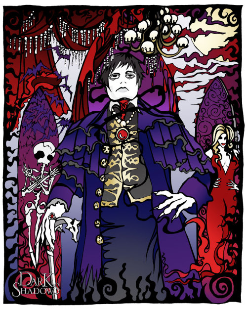 My submission to the Dark Shadows Barnabas portrait on Deviant Art http://kimberleetraub.deviantart.com/#/d4xlfbx
