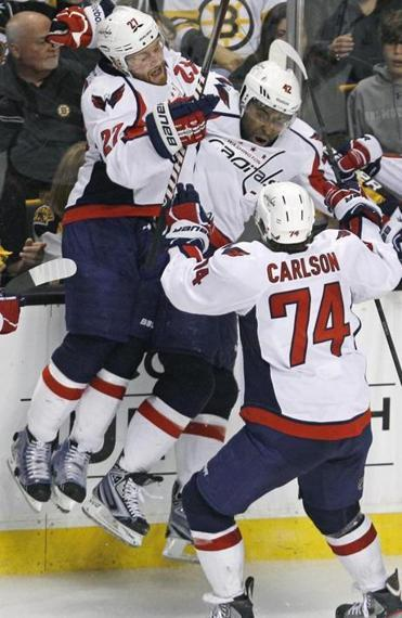 Racist messages on Twitter follow Capitals' goal  - Washington Capitals forward Joel Ward was the hero of Wednesday night's Game 7 of the Capitals-Bruins NHL playoff series, but his shining moment was followed by racial epithets posted to Twitter in the hours after the game.