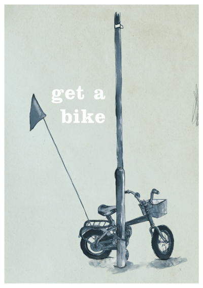 Get a bike. (via Advice to Sink in Slowly)