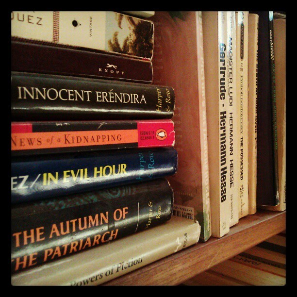 Book Love #book #books #hermanhesse #marquez #literature #booklove  (Taken with instagram)