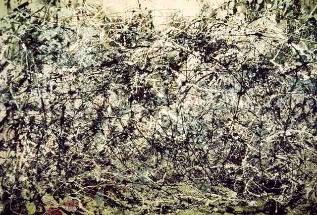 tommilsom:  This is a painting called Number One, 1948 by Jackson Pollock And idk I'm having a hard time seeing how anyone could look at that and not be sort of blown away by how active and sort of terrifyingly lively it is  I love when things make me feel and I have no idea why. I mean I can't even see any pattern or anything in this, it just looks like a load of splashes, but it makes me feel scared and excited.