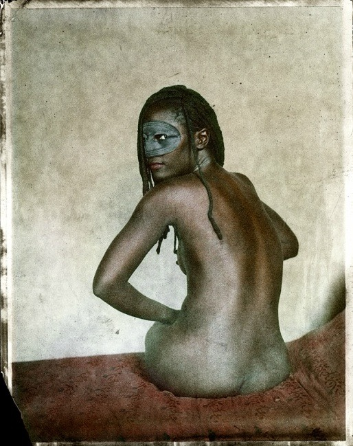 iamsogothiwasbornblack:  dulltooldimbulb:  William Schmidt Original Polaroid photograph 2010  From the Contemporary Vintage Sleaze Series HERE