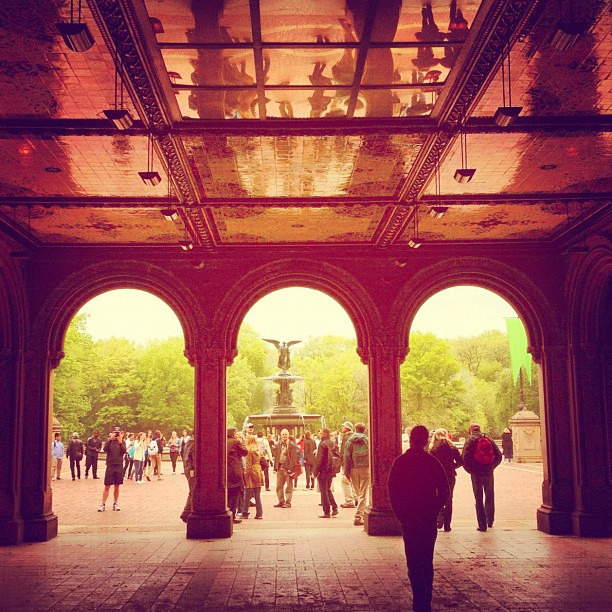 Bethesda Terrace on Flickr.