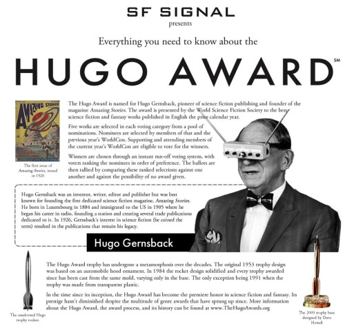 Beautiful Infographic Breaks Down the Hugo Awards