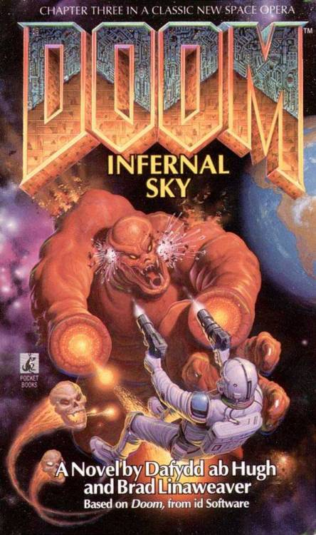 DooM: Infernal Sky novel cover.