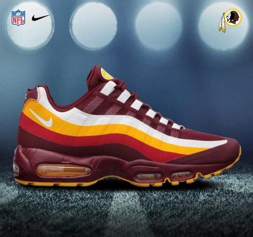 REDSKINS inspired sneakers. So so fresh!! ladydefined:  kivore:  I want these.  I WANT THESE!!!!!!!!