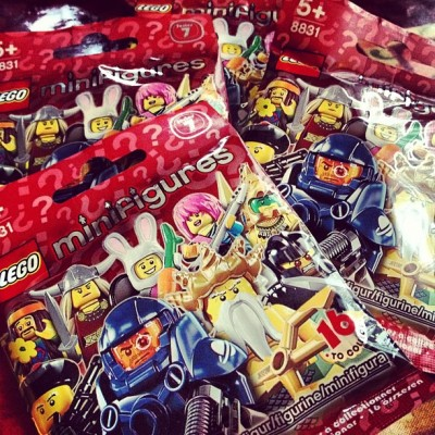 Ooh #swag #lego #surprise #series7 #minifigures #instagram #igers #igdaily #playnicely (Taken with instagram)