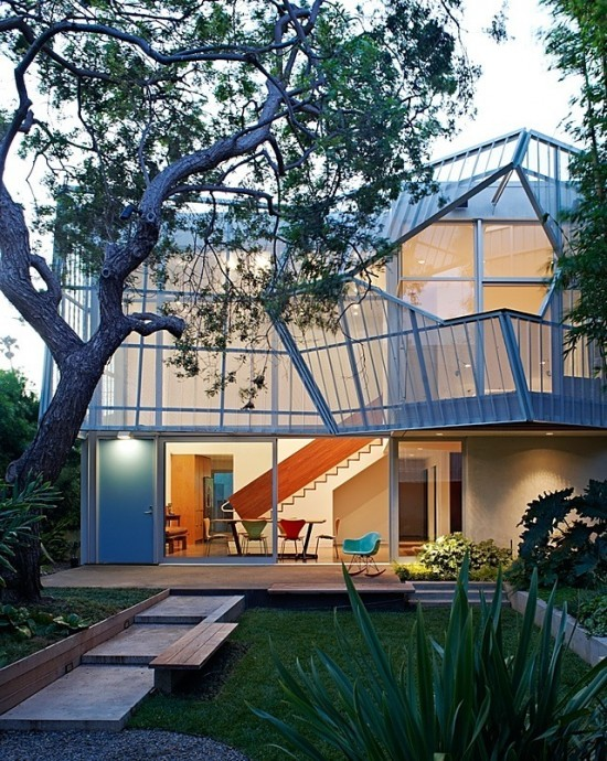 cabbagerose:  Palms House by Daly Genik Architects via: blueverticalstudio