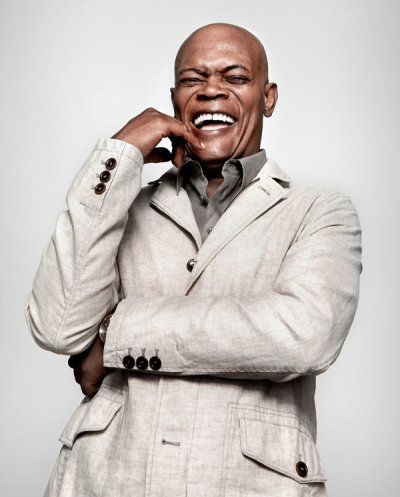 thedisgruntledgradstudent:  (via How Samuel L. Jackson Became His Own Genre - NYTimes.com) Apparently Samuel L. Jackson is the highest grossing actor of all time. That makes my day. And! The article has a widget were you can look at who he's been in films with.
