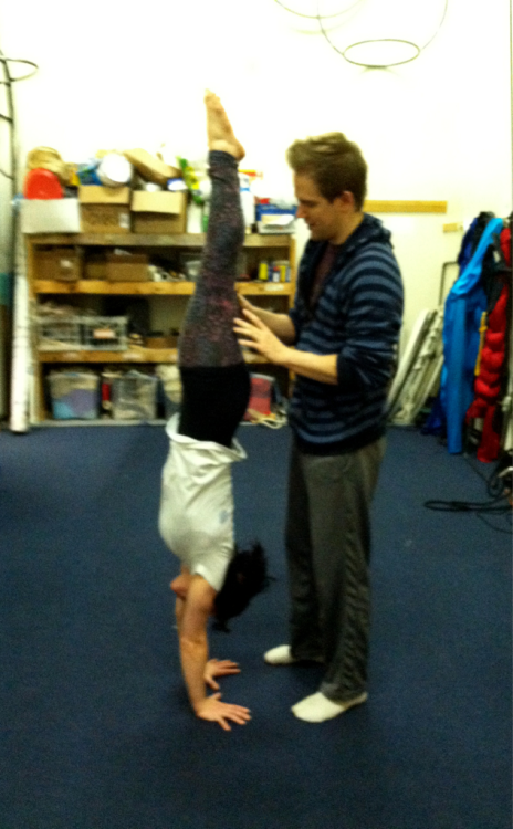 First photo from handstand workshop at NECCA this past weekend :). More photos to come as I get them uploaded!