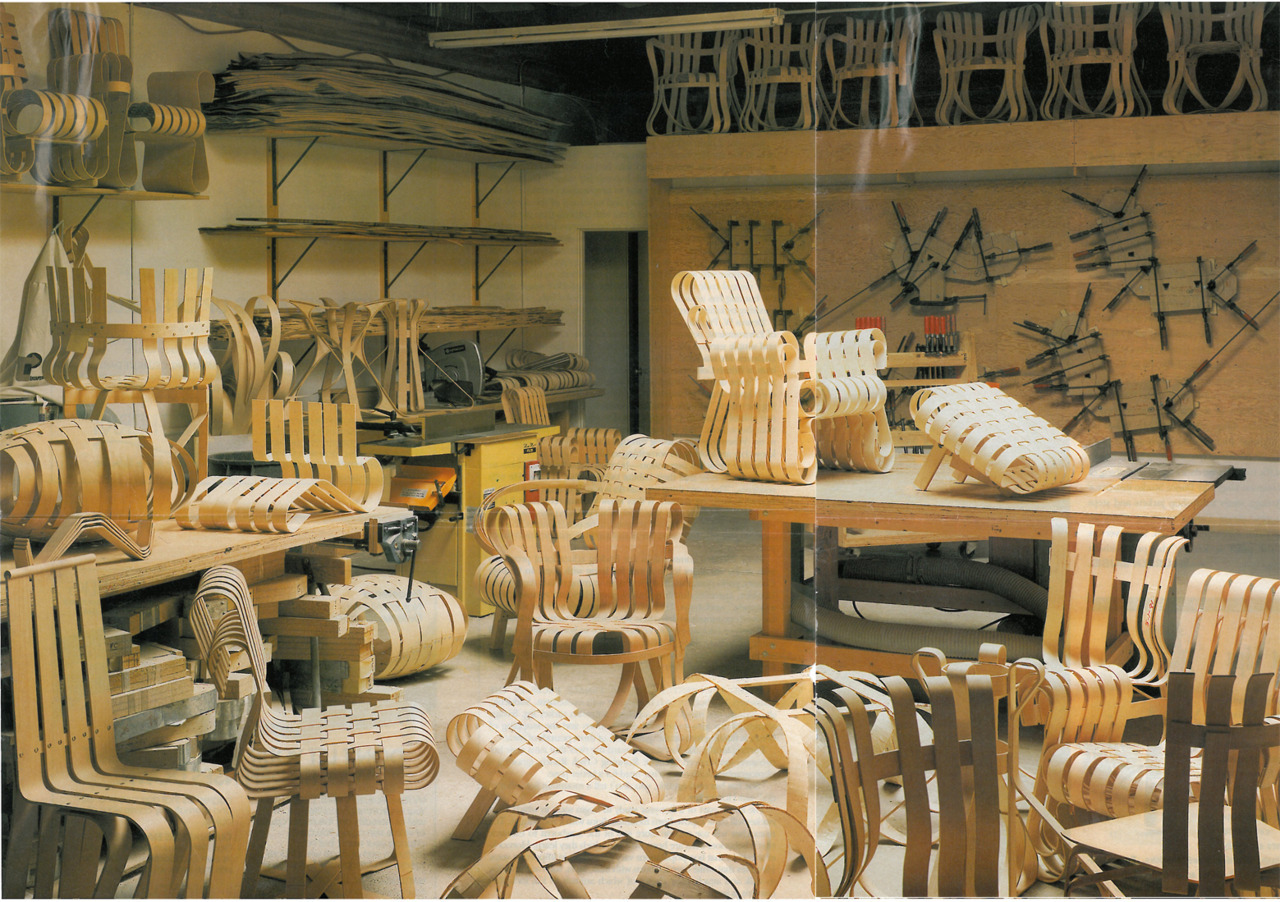 Gehry Collection Prototypes. Los Angeles Times Magazine, 1992