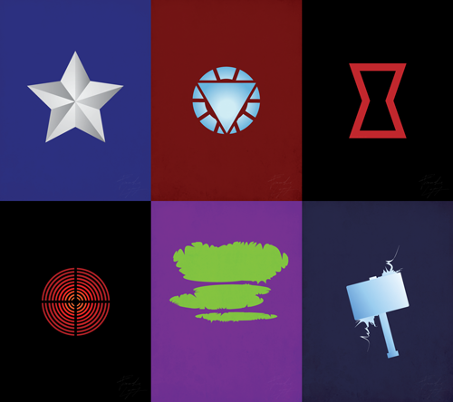 Collection of icons I made in celebration of the Avengers movie. Will post bigger versions after. :)