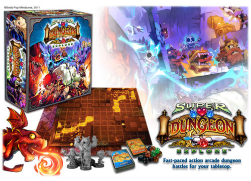 You've been so patient, really…The 2nd print run of Super Dungeon Explore is confirmed for arrival in the US, and will be ready to ship by June 14.  Also, this set actually has a few extra bits, nicer cards and (wait for it…) detailed assembly instructions. Now taking preorders.