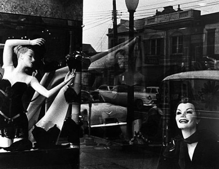 William Klein, Store Window, Long Island, NewYork, 1955