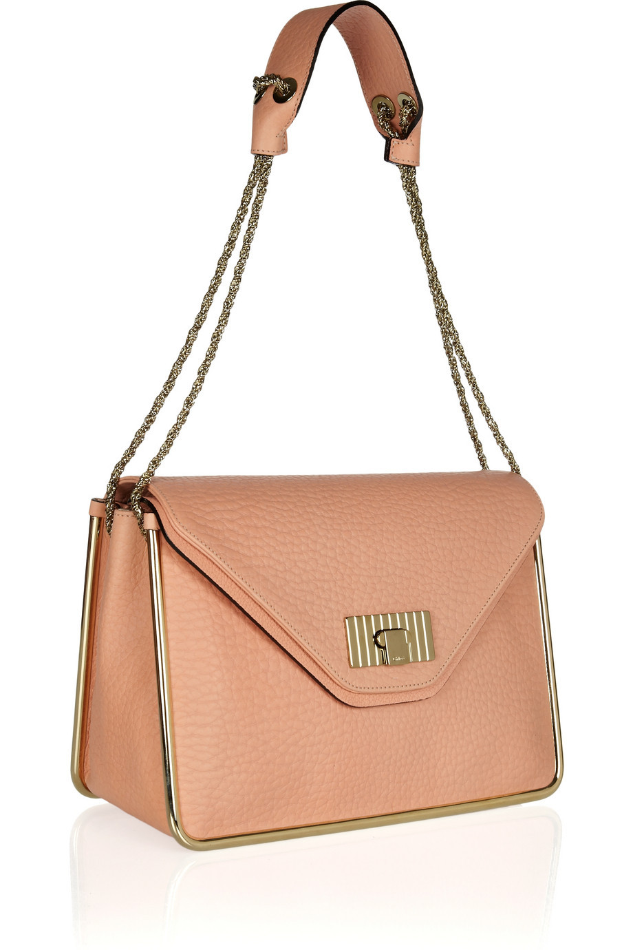 I am seriously lusting after Chloe's 'Sally' bag. Does a bride need a handbag on her wedding day? Probably for the best, as this is £1,325. Photo Credit: Net A Porter