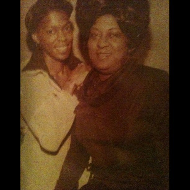 #throwbackthursday my mom & grandma  (Taken with instagram)