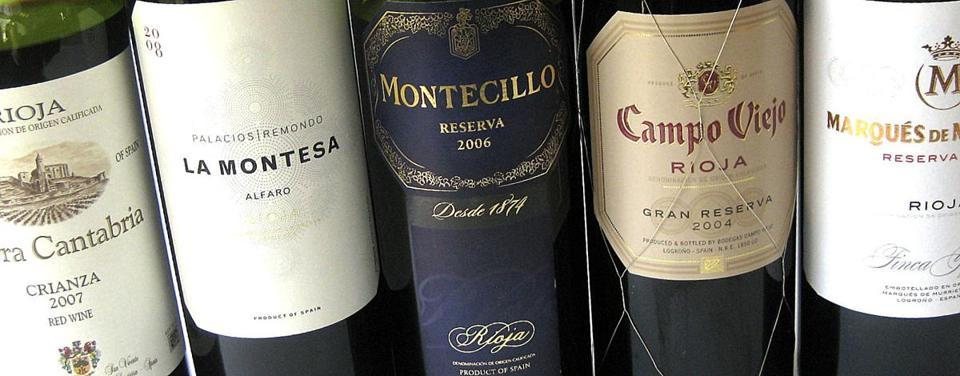 BY THE GLASS Rioja, wines from Spain  - For a very long time, the only Spanish wines of which the world took much notice were sherry from the southern Atlantic coast and oak-aged table wines of Rioja in the county's far north.