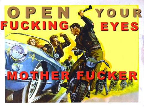 watch for motorcycles.
