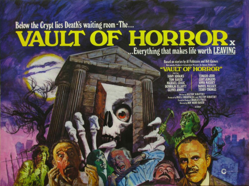 beautyandterrordance:  The Vault of Horror…everything that makes life worth leaving!