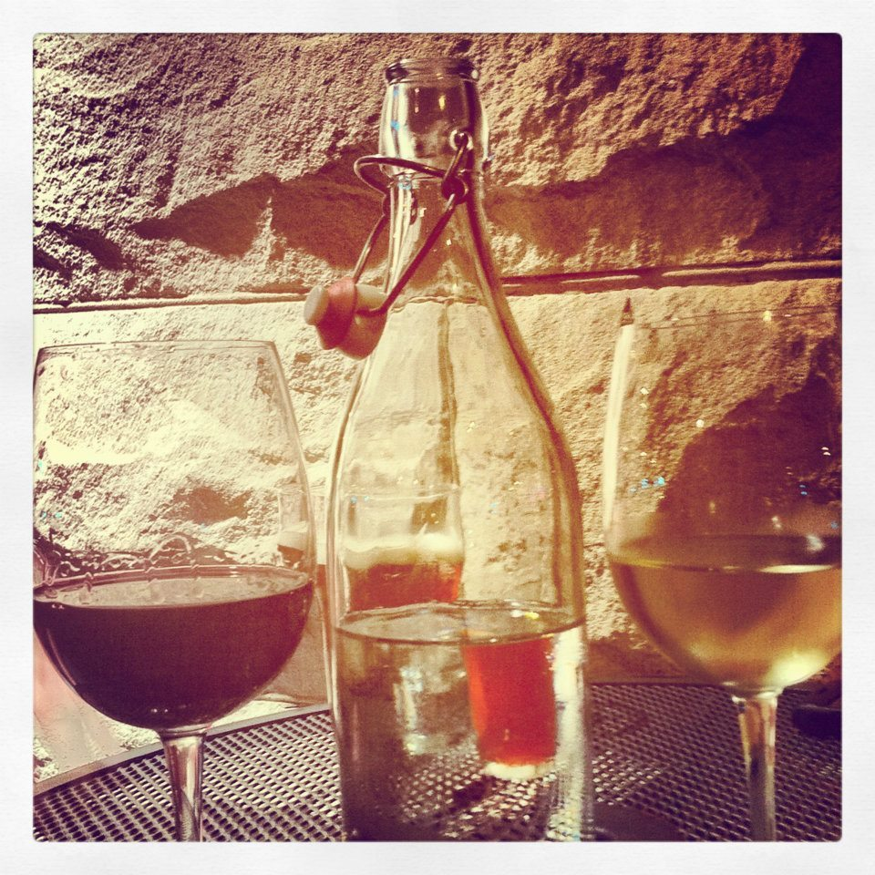 """Wine and beautiful weather."" Photo by Julia P. Help Julia win Womply's Favorite Eats Photo Contest by clicking the photo and hitting ""Like""! To learn more about the contest, click here."