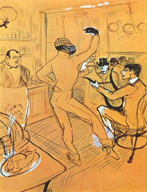 "Chocolat danse dans le ""Irish and American Bar"", 1896 @credits  Orphan, Rafal Padilla, born in Cuba in 1868, was sold to serve a rich Portuguese and brought to Europe. After escaping to Spain,  he was discovered by the clown Tony Grice in Bilbao, who made him his partner. Padilla gained the nickname of 'Chocolat'. He then teamed up with the clown Footit in 1886, in Paris, where they became famous with their show, with Footit as an authoritarian clown who would correct Chocolat for his mistakes. It seems that the French expression ""Je suis chocolat"" (I'm chocolate"") meaning ""I'm fooled"" comes from his character. His success was at its highest in 1905, when they produced at the Folies Bergères. But in 1910 the team split up, and Padilla didn't manage to find a job as an actor, despite his qualities. He died in poverty in 1917."