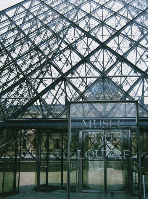 gaavan:  Entrance to the Louvre Museum. Paris, France.