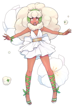 Whimsicott Gijinka by dummy04 release date : 30 Apr 2011