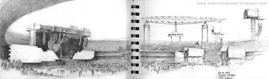 (via Urban Sketchers: The Wall « Sketches & Jottings)