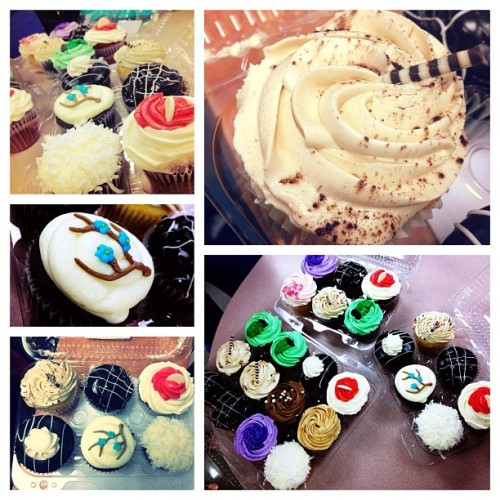 Cupcakes galore! #fusscupcakes #food #desserts #yummy #iphotography #greattimes #love (Taken with Instagram at What's all the Fuss about?)