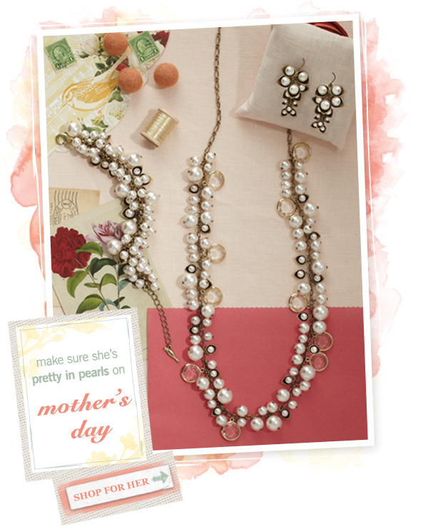 Mother knows best! Shop Mother's Day Jewelry Now at chloeandisabel.com