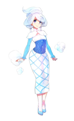 Vanillite gijinka by dummy04 release date : july 13 , 2011 yes, she is very sweet.