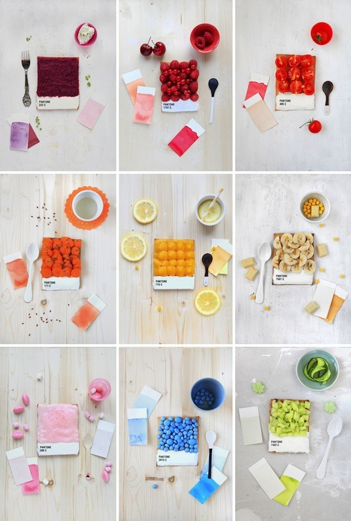 curiositycounts:  A delicious homage to Pantone and its (growing) heritage of color.