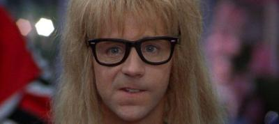 I think Garth Algar's my spirit animal.