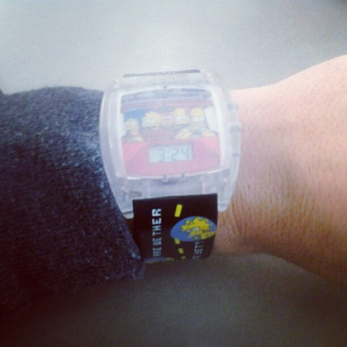 Og Simpson's Watch From BK Back In The Day! (Taken with instagram)