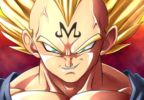 "Day 1: Picture of your favorite character and explain why. Majin Vegeta. He's my favorite anime character period. Vegeta would be second, but Majin Vegeta just takes the cake. He is the definition of what it means to be a badass.  ""You may have invaded my mind and my body, but there's one thing a Saiyan aways keeps, his PRIDE!"" ""Meaningless huh?! What do you know of meaningless?! Spend most of your life ruled by another, watch your race dwindle to a handful, and then tell me what has more meaning than your own strength."" ""Every breath you take is an assault on my honor, but no more. By my hands you will be cut down inch by inch, just as you have cut down my pride."" ""By releasing the evil in my heart he has freed me of these petty attachments… and I have to say it feels pretty good."" I could quote him for days."