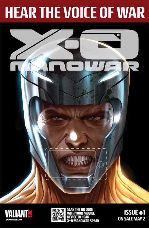Valiant Comics, Robert Venditti, and Cary Nord relaunch the beloved X-O Manowar. Valiant Comics set the fan world on fire recently when it announced the return and relaunch of its beloved series, X-O Manowar.  The 1990s creation of Jim Shooter, Bob Layton, and Jon Hartz tells the genre defying tale of Aric Dacia, heir to the Visigoth throne, who during his war against the oppressive Roman Empire is captured by an unknown and alien race.  Hitting store shelves next week, however, is the first issue of Robert Venditti and Cary Nord's relaunch of the hero, one that seems to be a faithful recreation packed with great dialogue, blood stained swords, and epic action.  Read more at http://www.brokenfrontier.com/reviews/p/detail/x-o-manowar-1