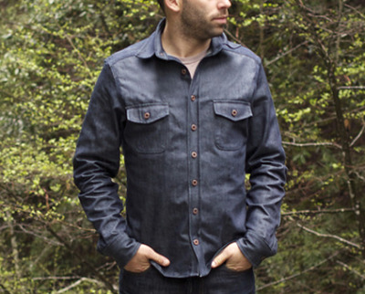 Taylor Stitch Triple Needle Denim Shirts.