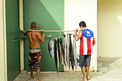 gabherman:  Crash Boat Beach, Puerto Rico, 2012 ©gabrielaherman Alright, I'm back in Brooklyn after a 5 day shoot in Puerto Rico. I'm working on a new project about seafood. I'll be posting here a bunch of outtakes from the shoots. This project will have me travelling all over for a bit. Tomorrow I'm heading down to the south (never been!!) to be on the road shooting local farms. So much goodness in store.