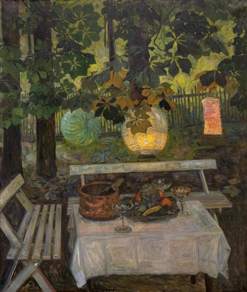 Stilleben (Still Life) (1907) – Thorolf Holmboe (Norwegian, 1866–1935)