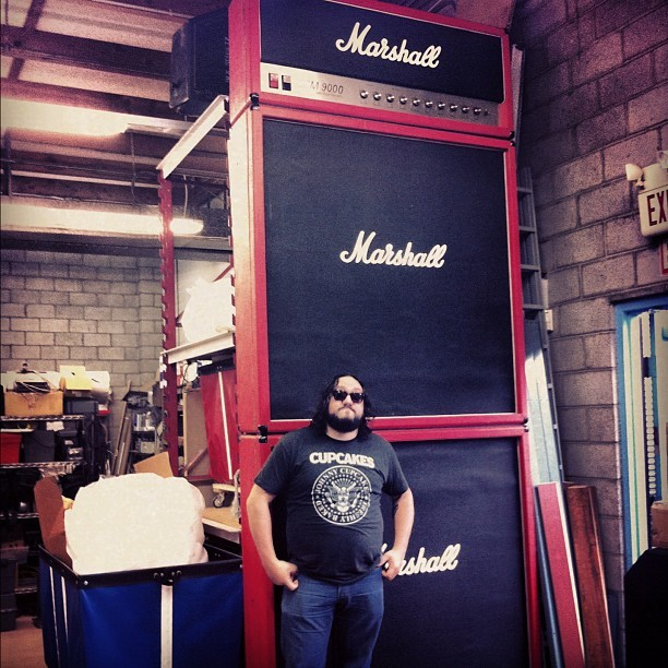 These Marshall amps look familiar? They go to 11. (Taken with instagram)
