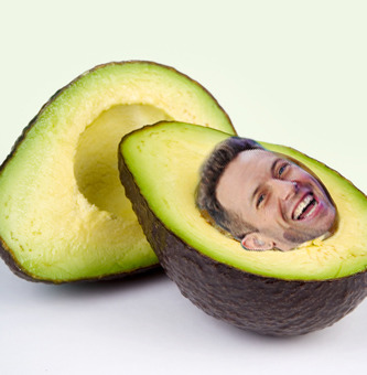 angel's anon said chris looked like an avocado. ok