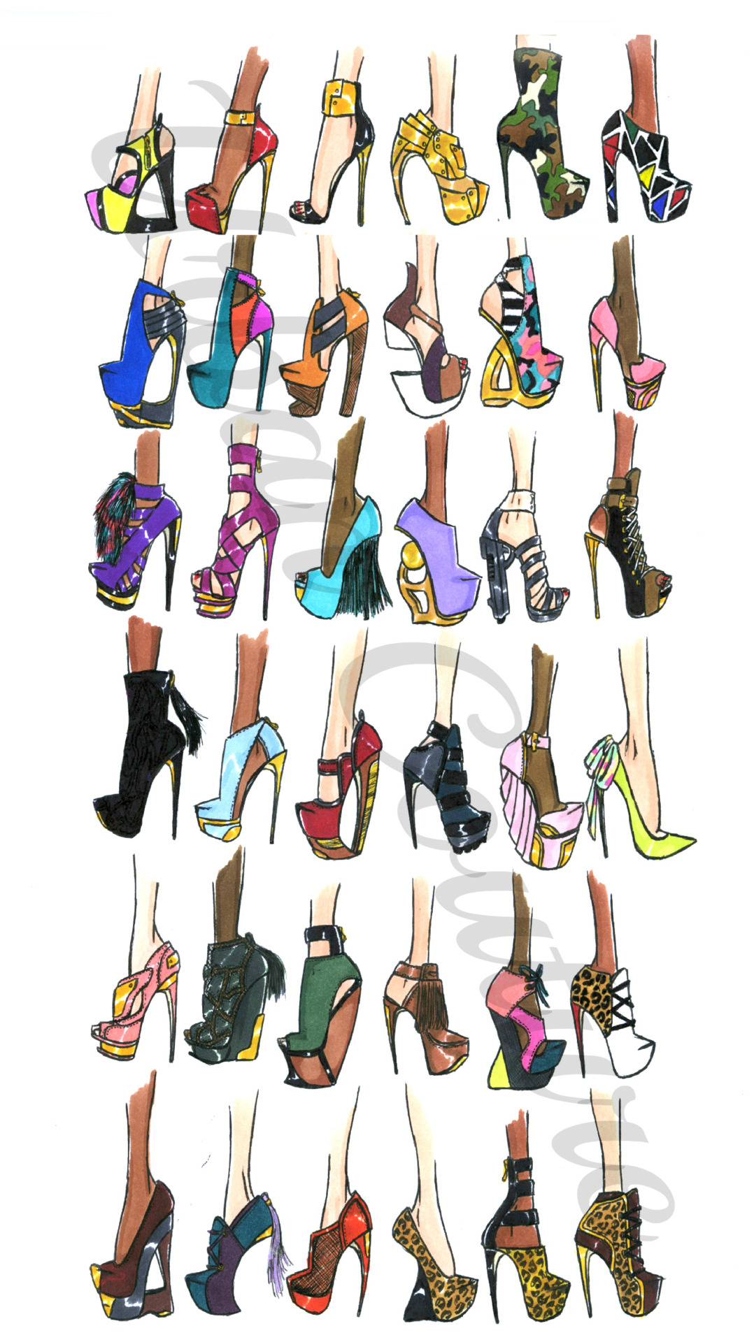 jerroncouture:  Urban Couture Shoe Designs ♥