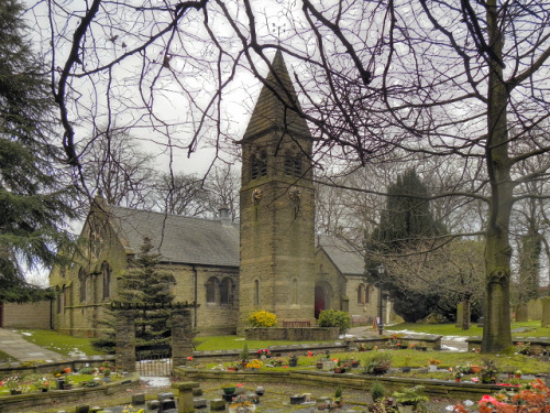 124daisies:  Parish Church of St Thomas, High Lane, Greater Manchester
