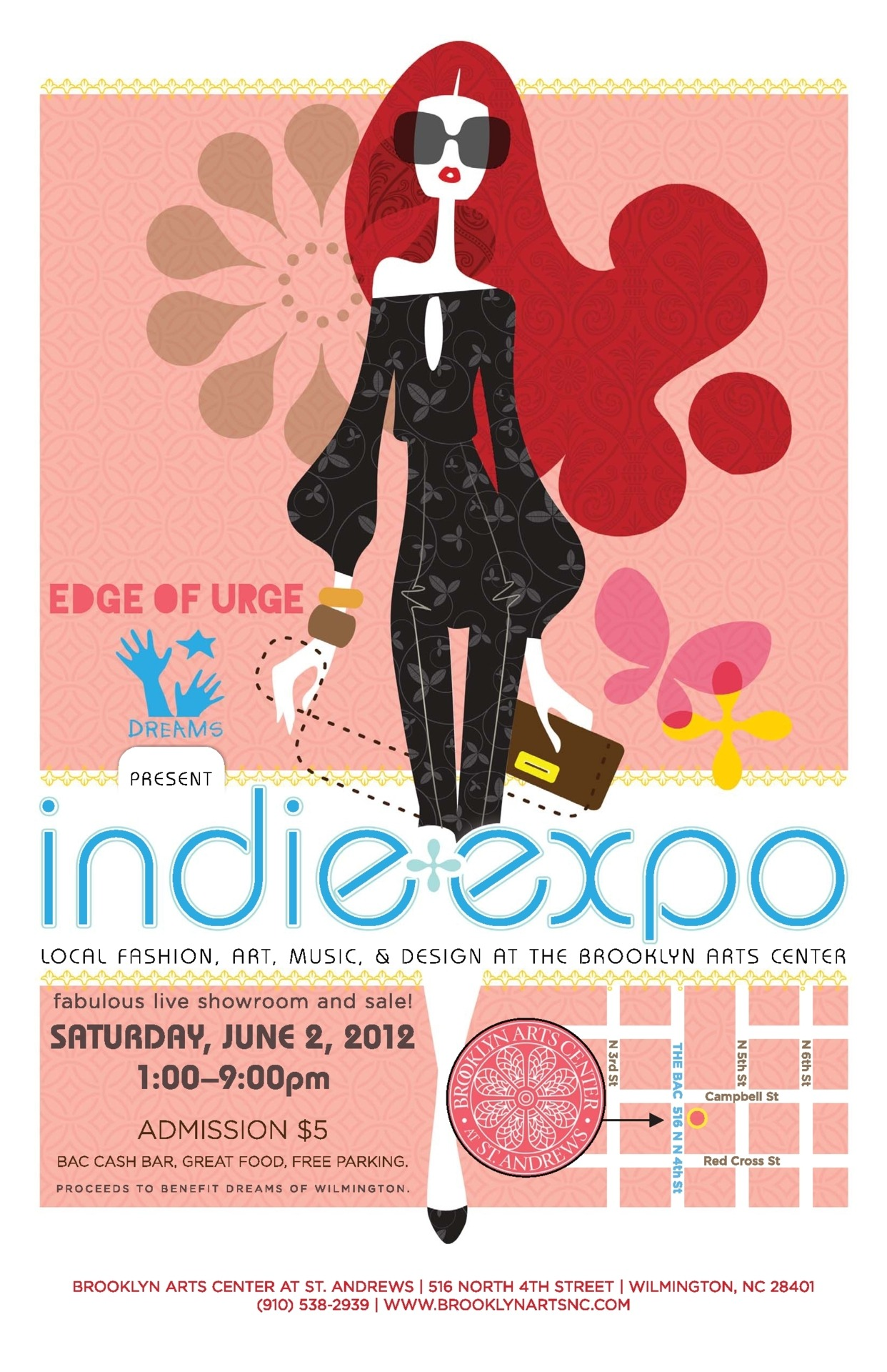 ANNOUNCING: INDIE EXPO - Local Fashion, Art, Design, and Music Saturday, June 2, from 1-9pm at The Brooklyn Arts Center Wanna be a vendor? email heather@brooklynartsnc.com for info Check out Indie Expo on Facebook!! Tweet  // ]]]]]]]]]]> // ]]]]]]]]> // ]]]]]]> // ]]]]>]]>