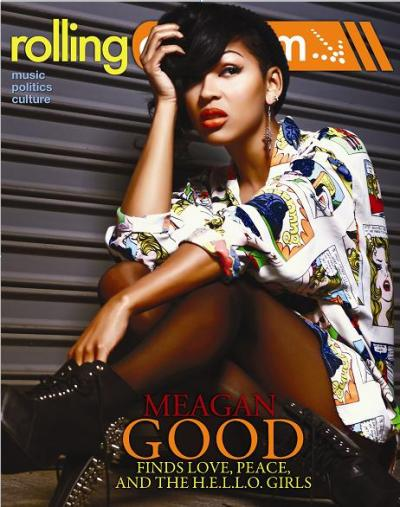 Megan Good for the latest issue of @RollingOut Magazine…